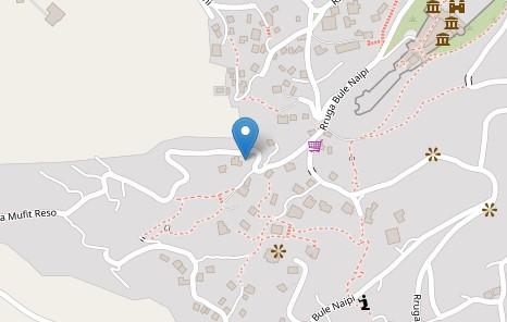 Beqiri house map