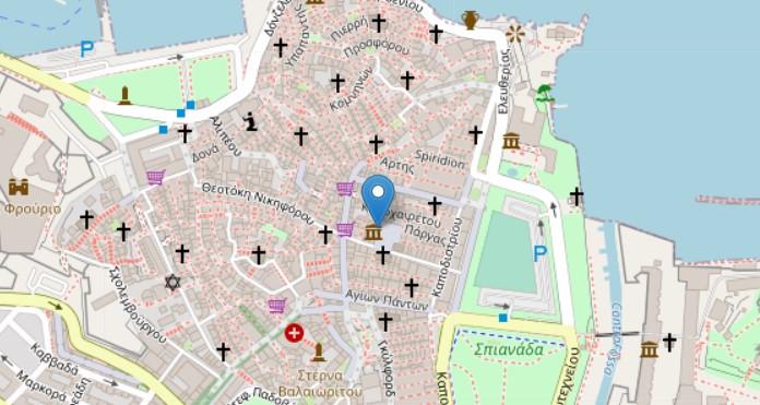 Ionian Bank map