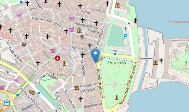 Kantoni mansion map