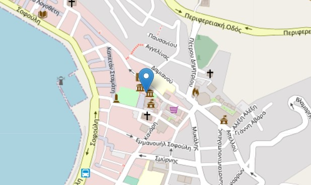 Paschalion Museum and Library – Archive map