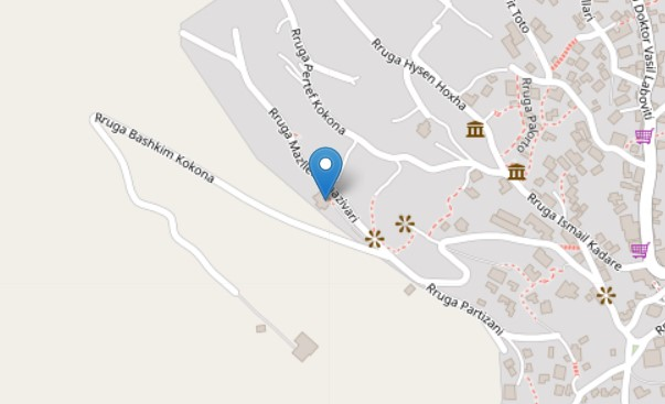 Zekate house map